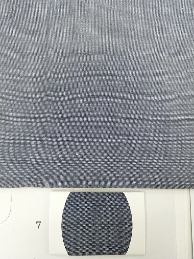 Denim shirt fabric