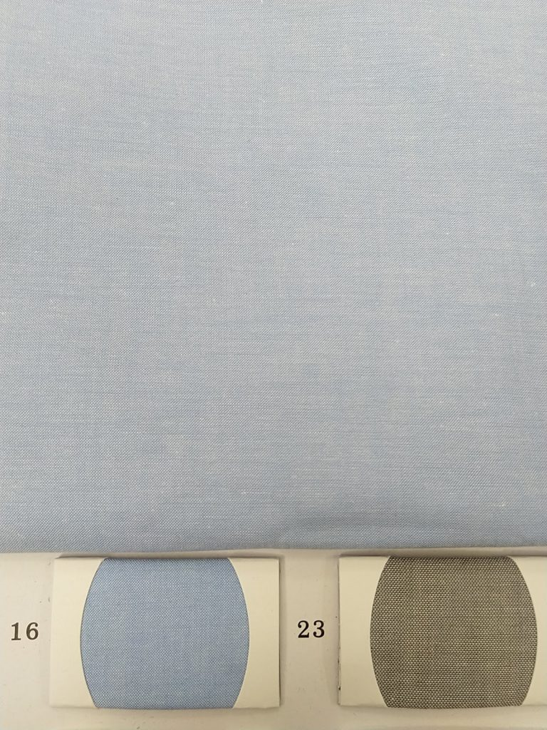 Light Blue Chambray Fabric for Office wear
