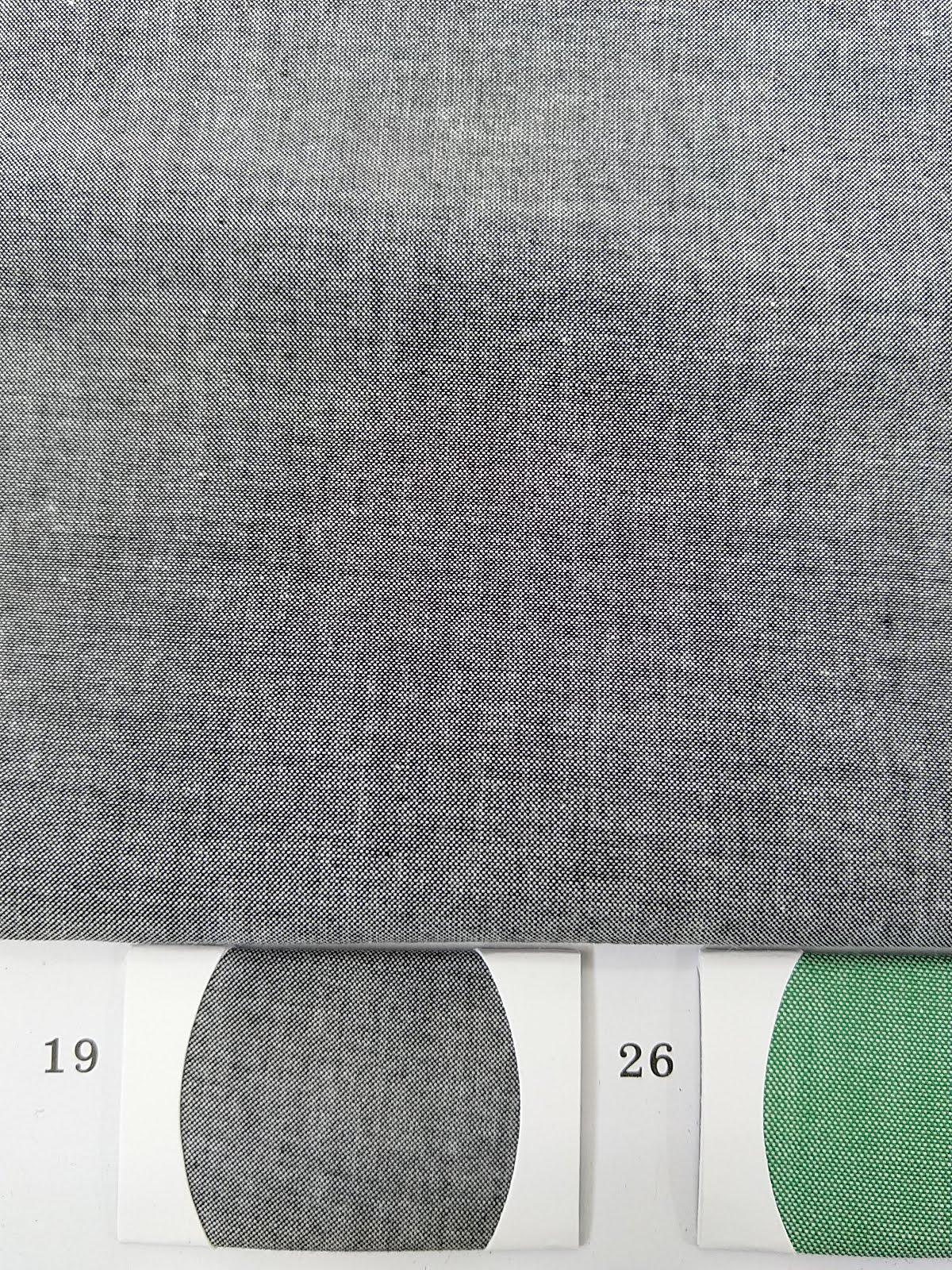Black Chambray Fabric for men shirt