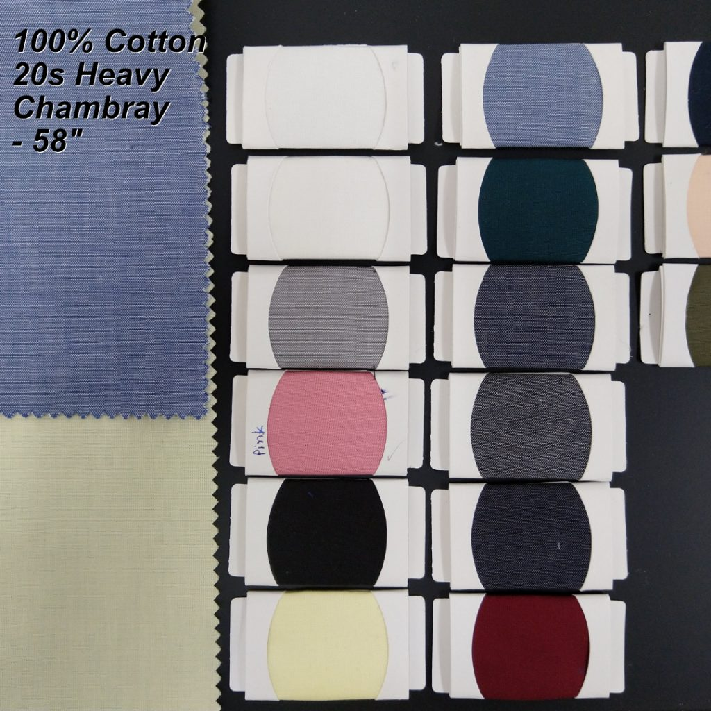 Cotton Chambray for Shirts