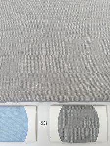 ผ้าแชมเบรย์สีเทาอ่อน คอตต้อน100