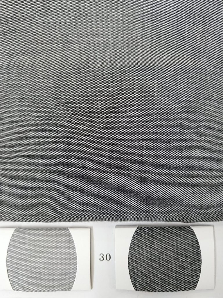 Pure Cotton two tone chambray fabric