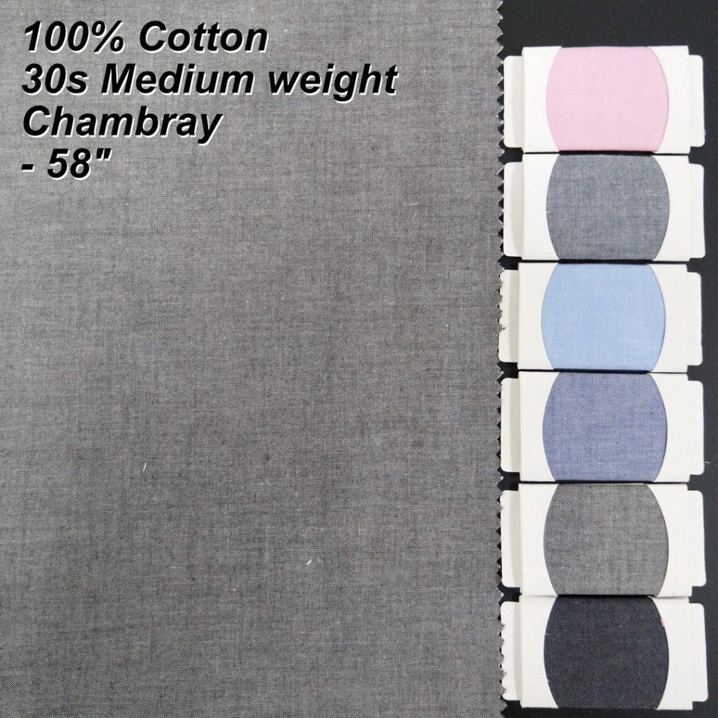 Chambray Shirt Fabric