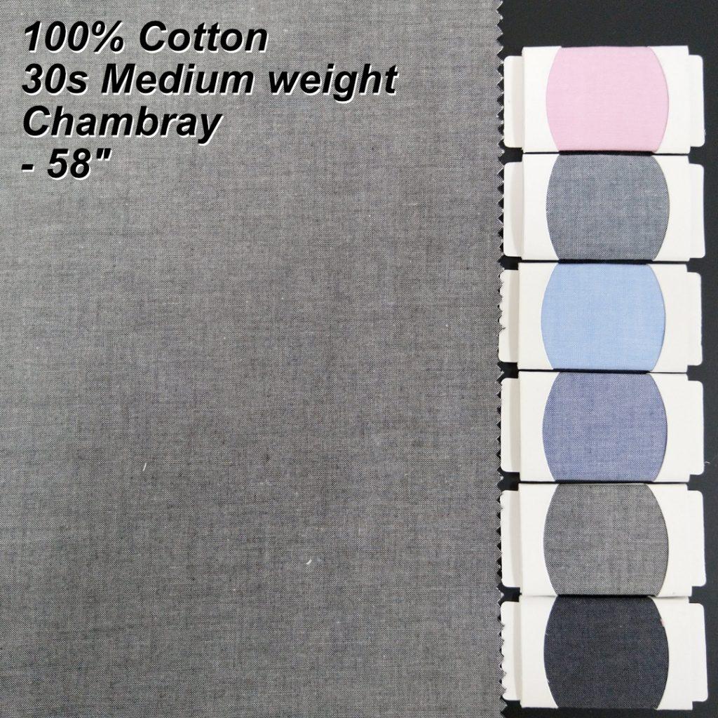 Chambray Shirt Fabric