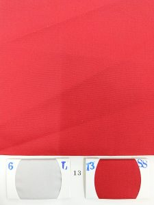 Red color fabric for shirts