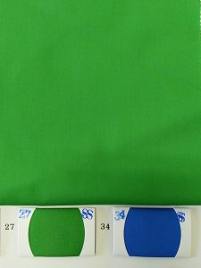 Bright Green color fabric