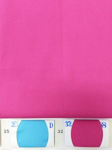 Hot Pink Color Cotton fabric