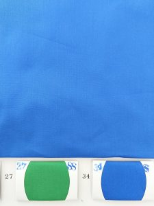 Bright blue cotton Poplin fabric
