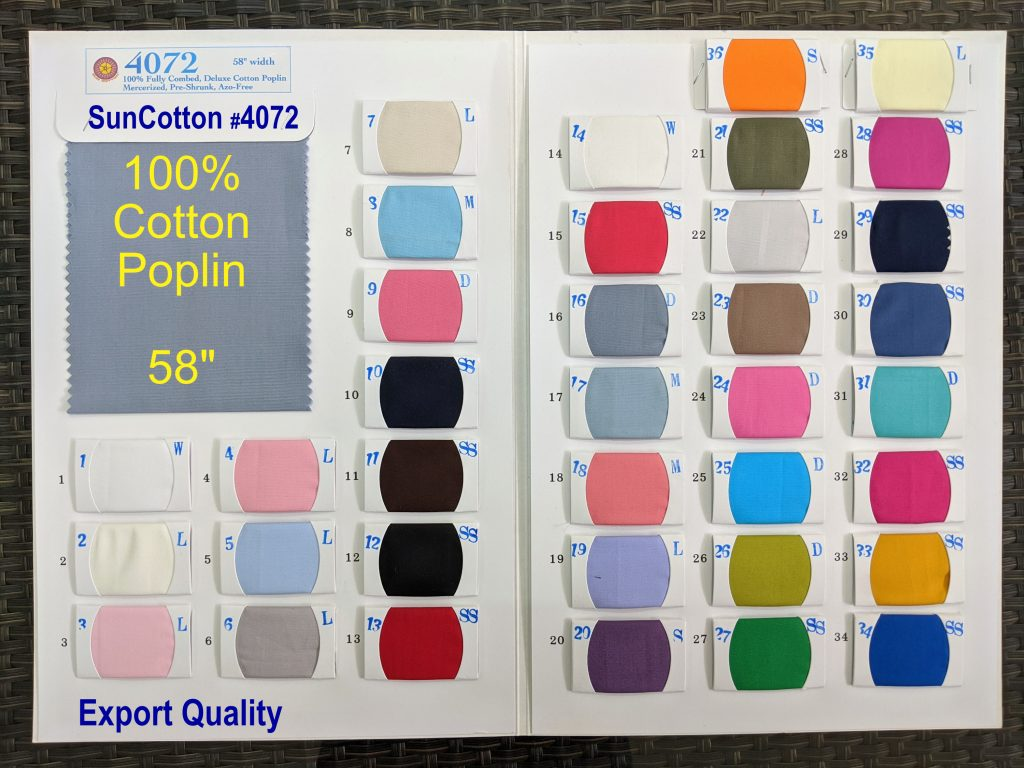 Cotton Poplin Fabric for Shirts