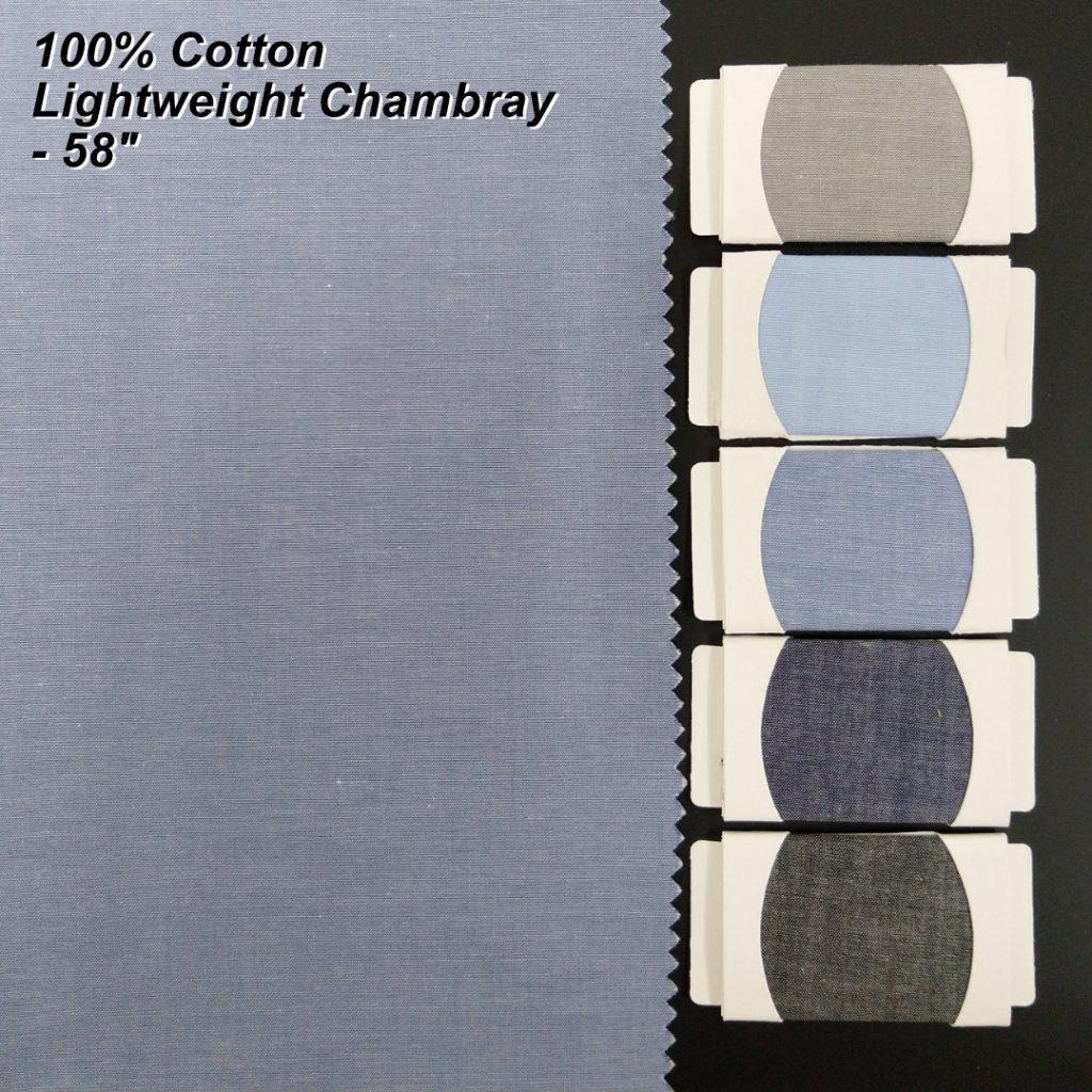 Light Chambray Fabric