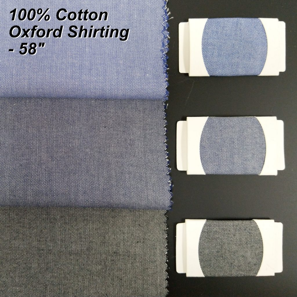 Oxford shirt fabric