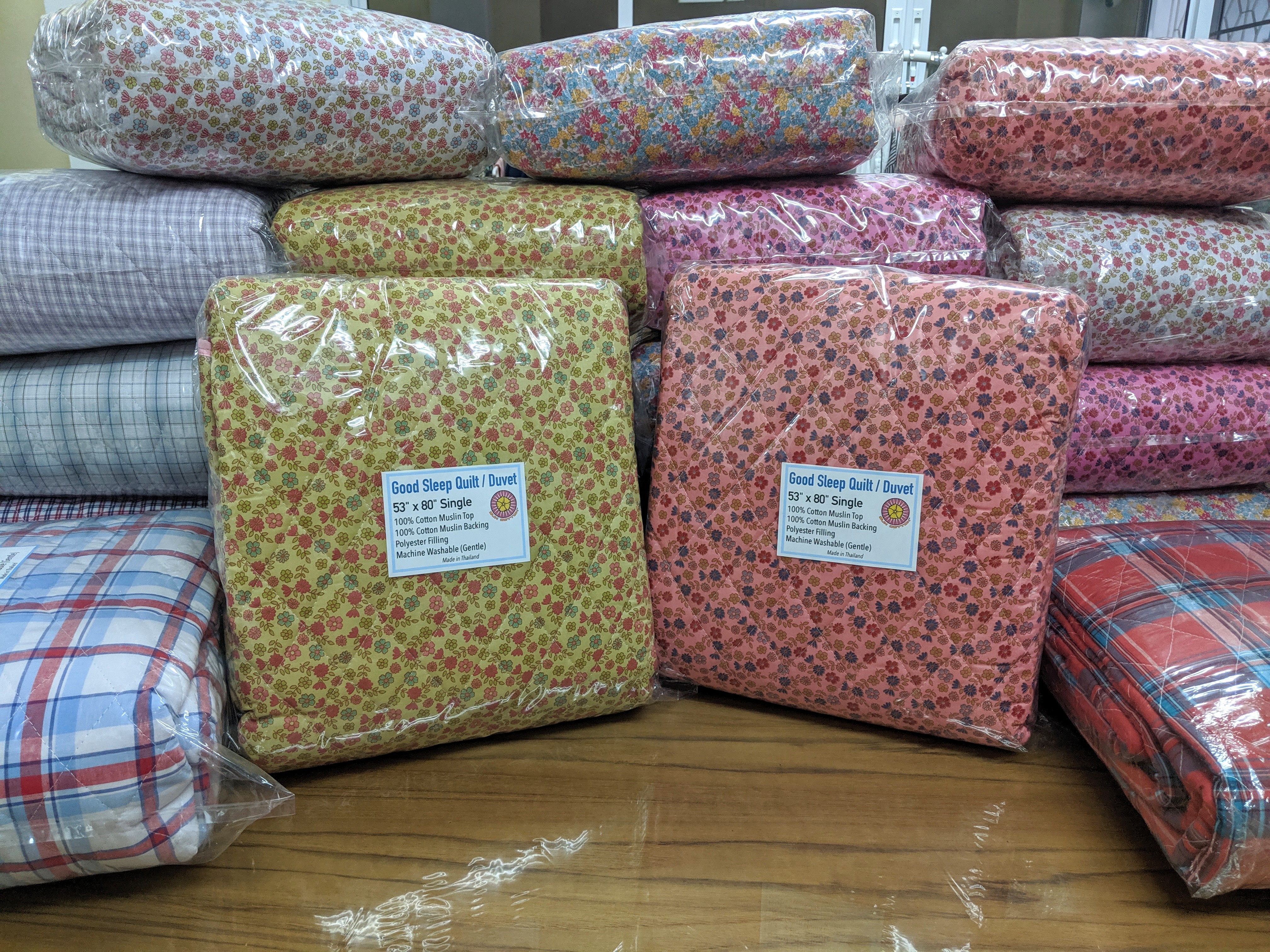 cotton muslin quilts for sale