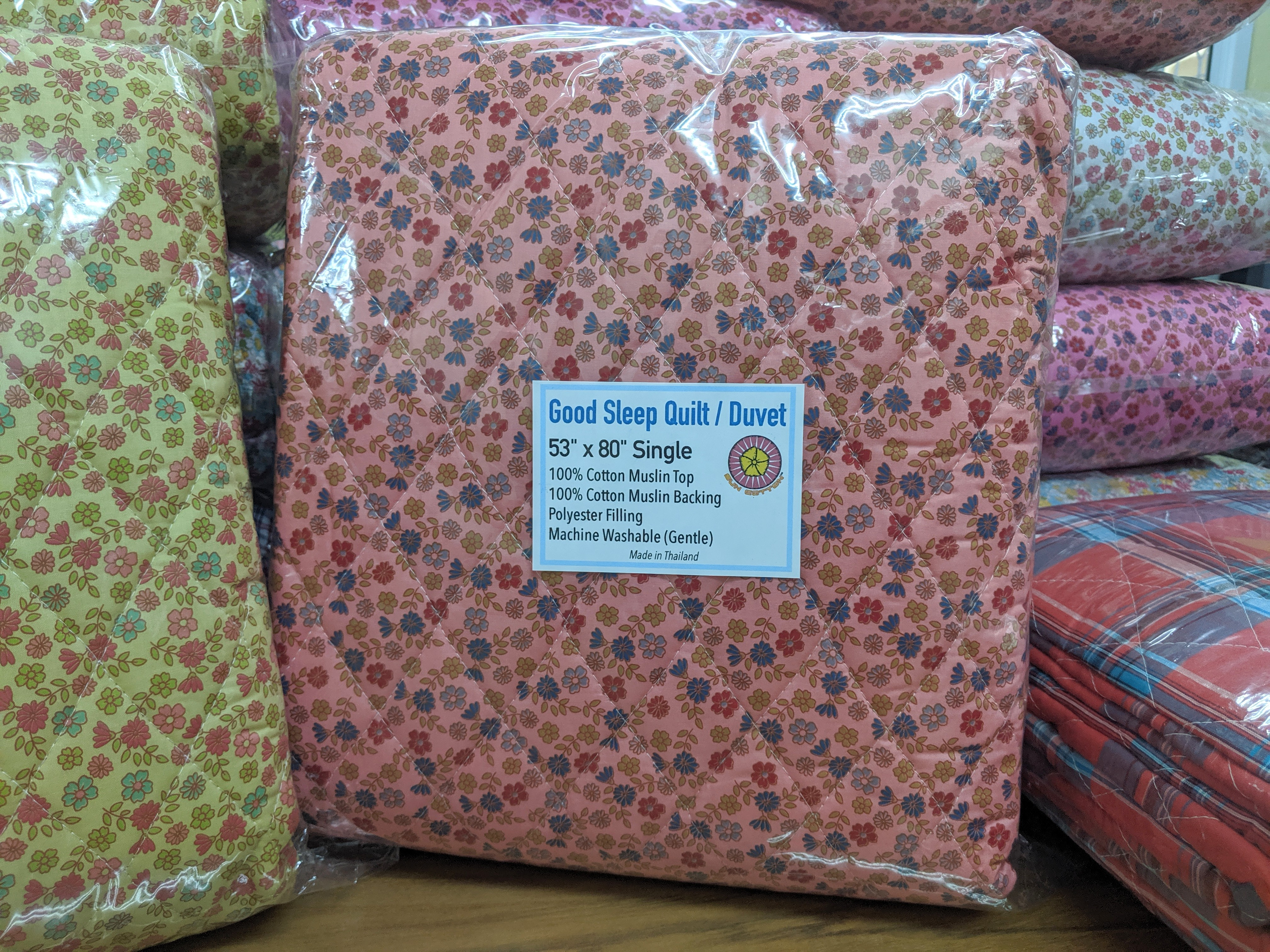 cotton muslin quilt banket wholesale
