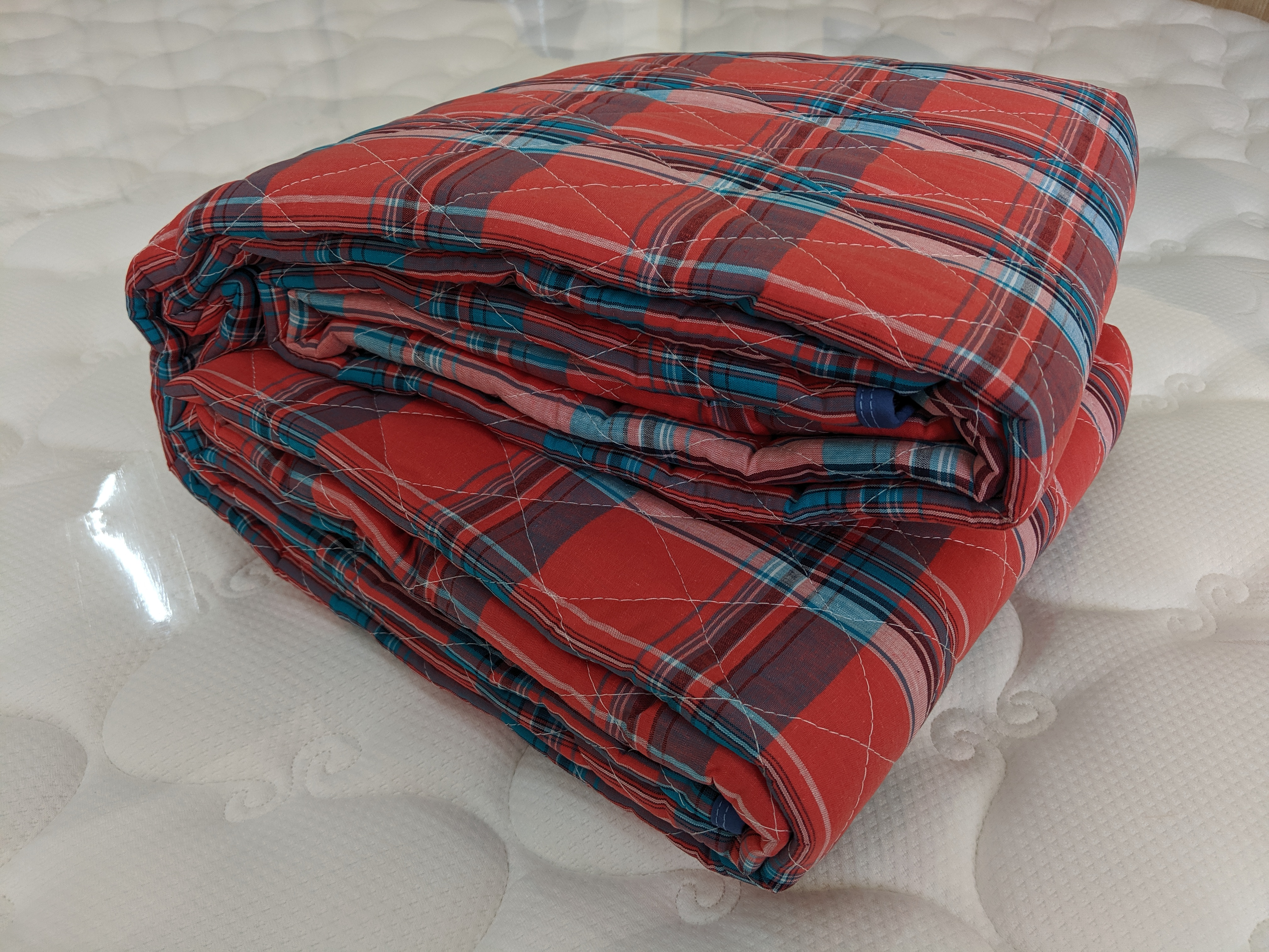 washable cotton backing quilt for single person