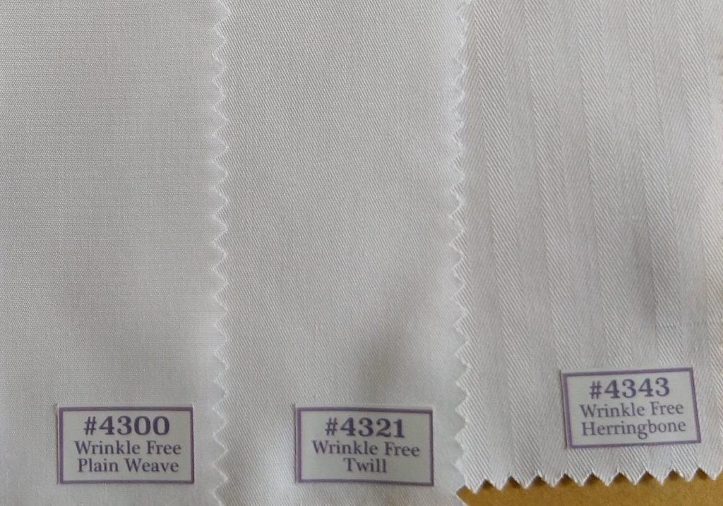 Pure Cotton - Wrinkle Free Shirting