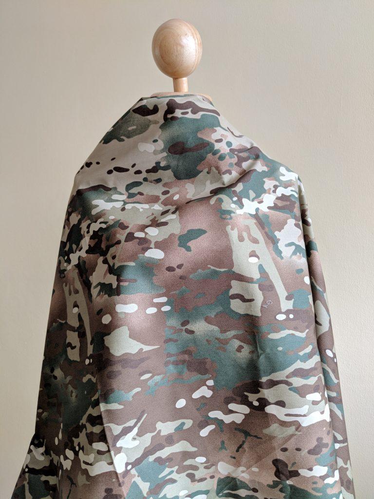 ผ้าคอตต้อนพิมพ์ลายคาโม มัลติแคม